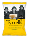 Cheddar & Chives 150 gr. Tyrrell's