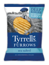 Furrows Sea Salted 150 gr. Tyrrell's
