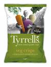 Vegetable chips 40 gr. Tyrrell's