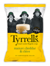 Cheddar & Chives 40 gr. Tyrrell's