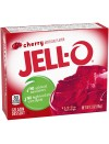 Gelatin cherry flavor 85 gr. Jell-O