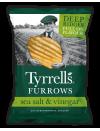 Furrows Sea Salt & Vinegar 150 gr. Tyrrell's