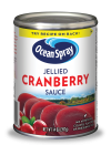 Cranberry Sauce Jellied 397 gr. Ocean Spray.