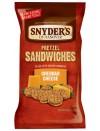 Pretzel Sandwiches Cheddar Cheese 226.8 gr. Snyder's