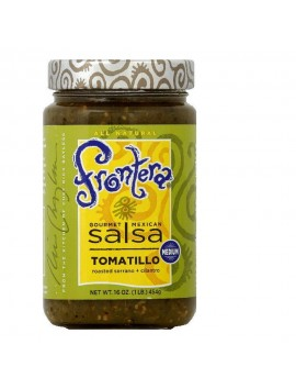 Frontera salsa tomatillo medium 454 g