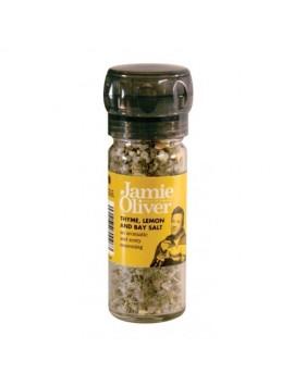 Jamie Oliver grinder thyme,lemon&bay salt 70 g