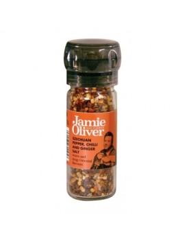 Jamie Oliver grd. szechuan pepper,chilli&ginger salt 35g