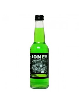 Jones Soda green apple flavour soda 330 ml