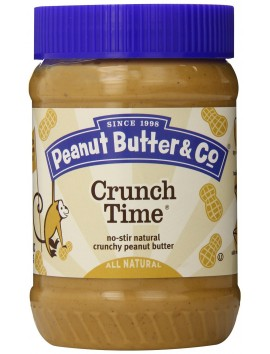 Peanut Butter & Co Crunch Time 454g