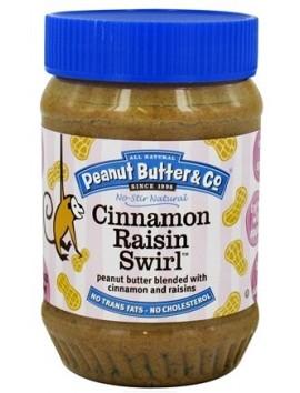 Peanut Butter & Co  PB & cinnamon raisins 454g Crema de cacahuete