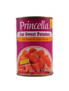 Princella Cut sweet potatoes 425 G