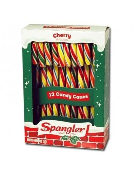 Spangler candy canes cherry 12 ud 170 g