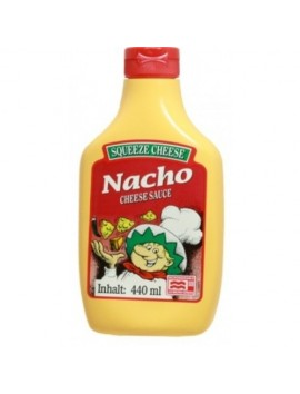 Squeeze cheese nacho 440 ml