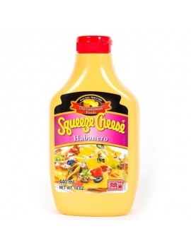 Squeeze habanero cheese microweable 440 ml