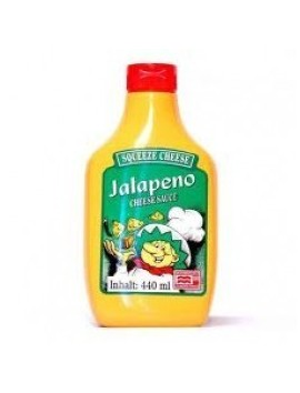Squeeze Jalapeño Cheese Microwaveable 440 ml