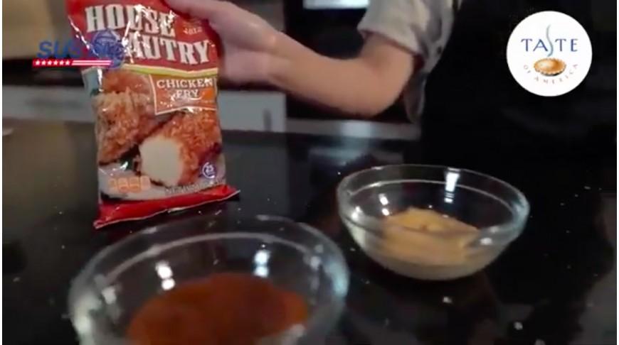 Campaña Susta Pollo frito House Autry